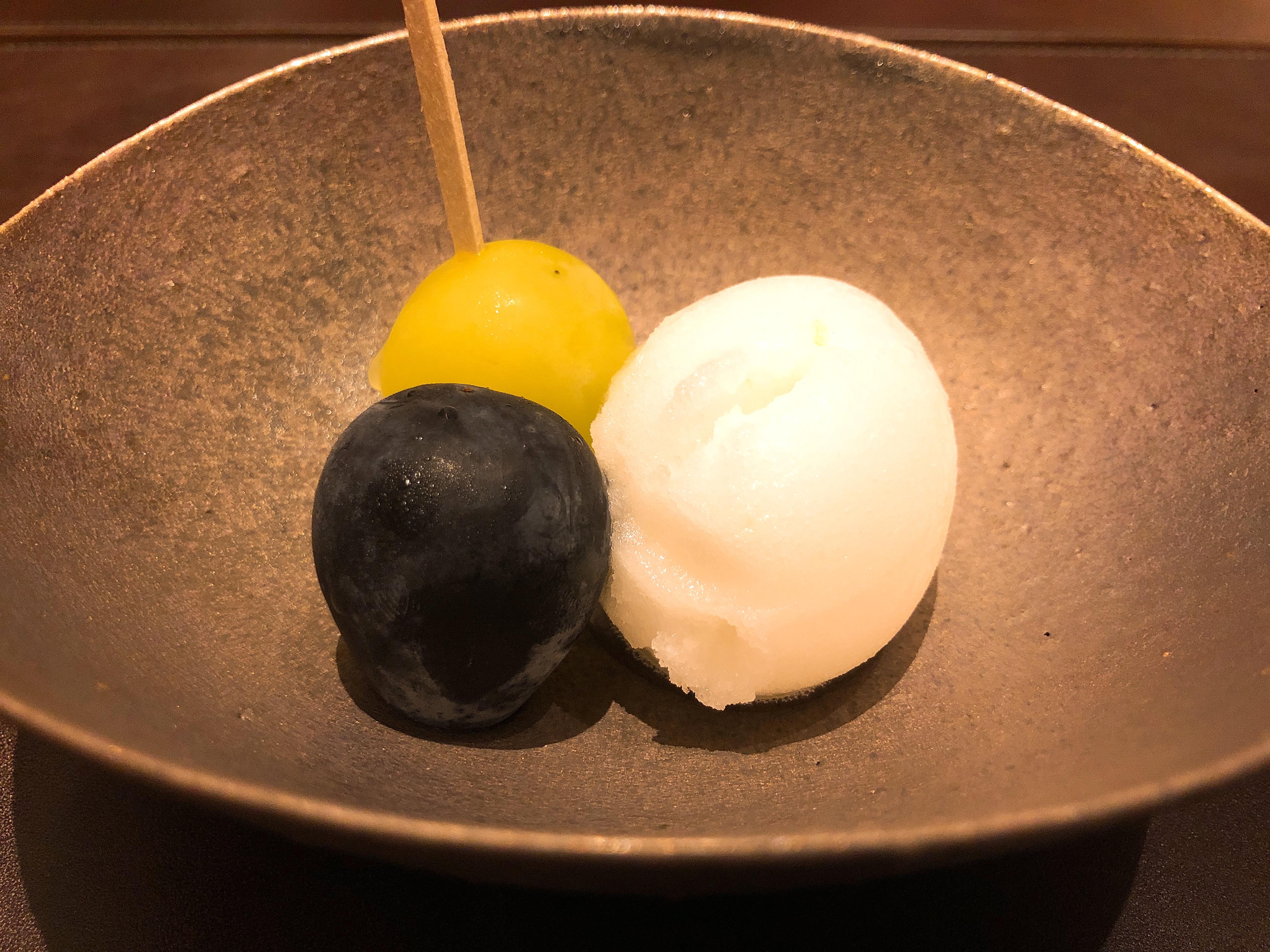 シャインマスカット+ナガノパープル+ソルベ