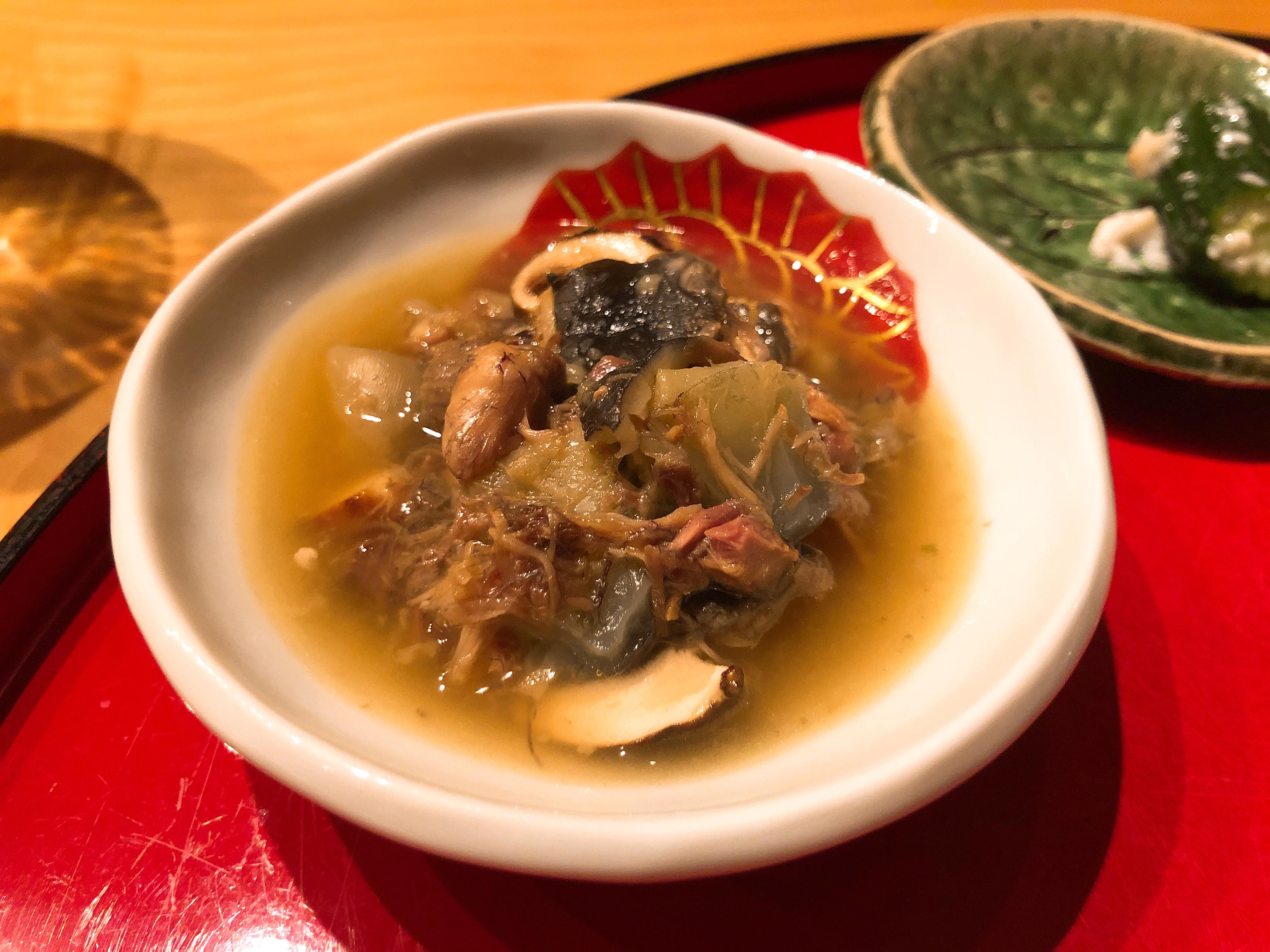 すっぽん+松茸の煮物
