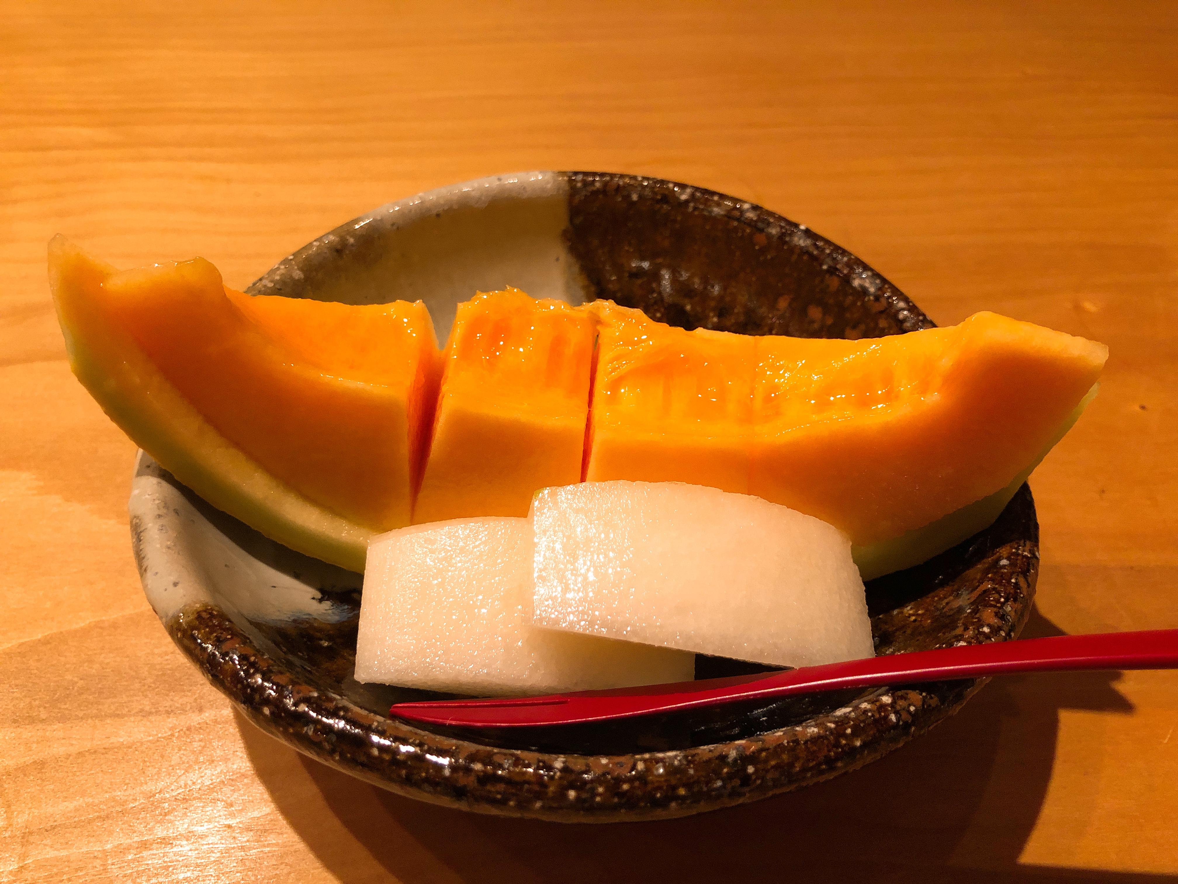 夕張メロン+梨