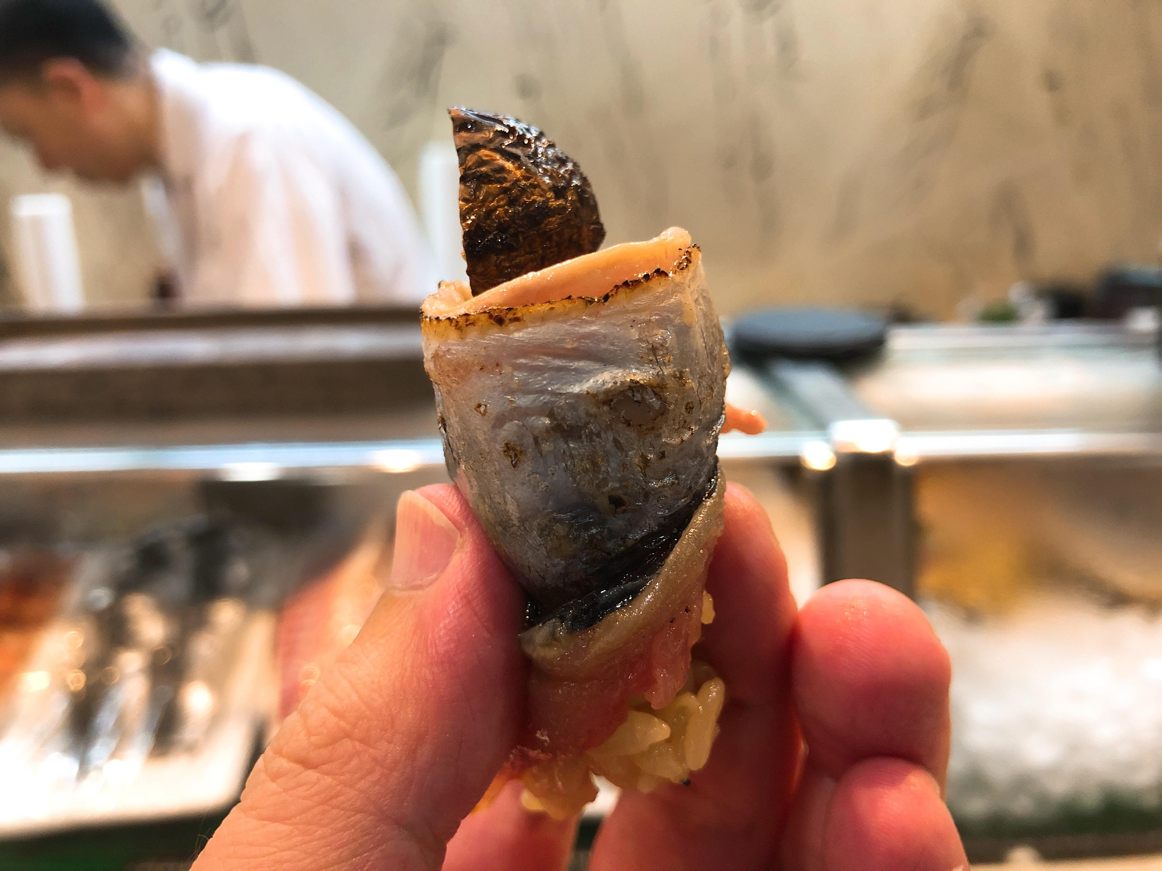 秋刀魚&松茸